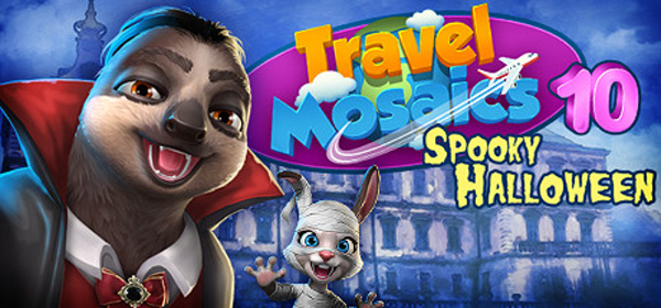 Travel Mosaics 10: Spooky Halloween (2019) - полная версия на русском