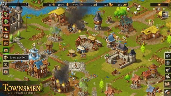 Townsmen: A Kingdom Rebuilt (2019) - полная версия