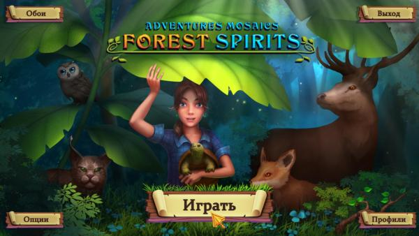 Adventure Mosaics: Forest Spirits (2019) - полная версия на русском