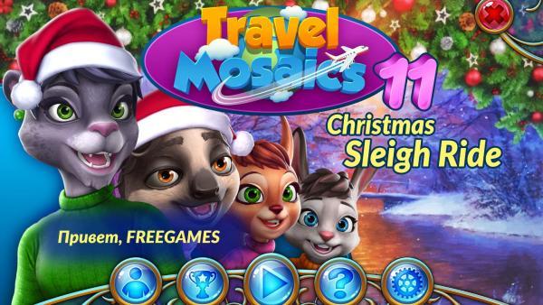 Travel Mosaics 11: Christmas Sleigh Ride (2019) - полная версия
