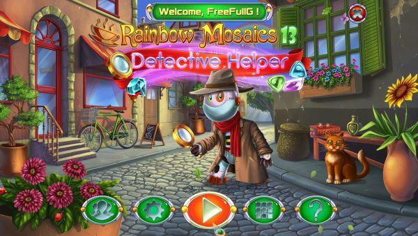 Rainbow Mosaics 13: Detective Helper (2020) - полная версия