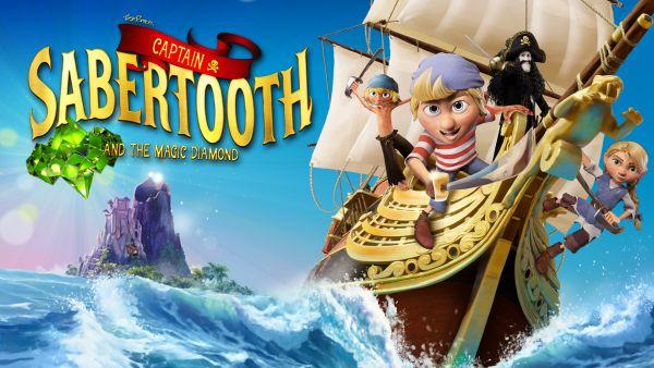 Captain Sabertooth and the Magic Diamond (2020) - полная версия на русском