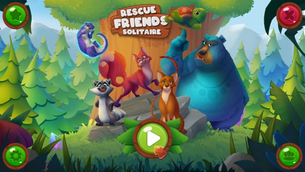 Rescue Friends Solitaire (2021) - полная версия