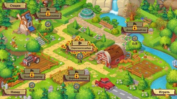 Adventure Mosaics 3: Granny's Farm (2021) - полная версия на русском